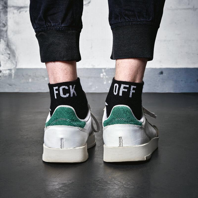 """Socken """"FCK OFF"""""""